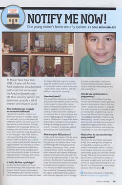 Make Magazine Article April 2012