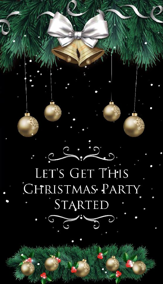 HOLIDAY GOLD BALL - GET PARTY STARTED