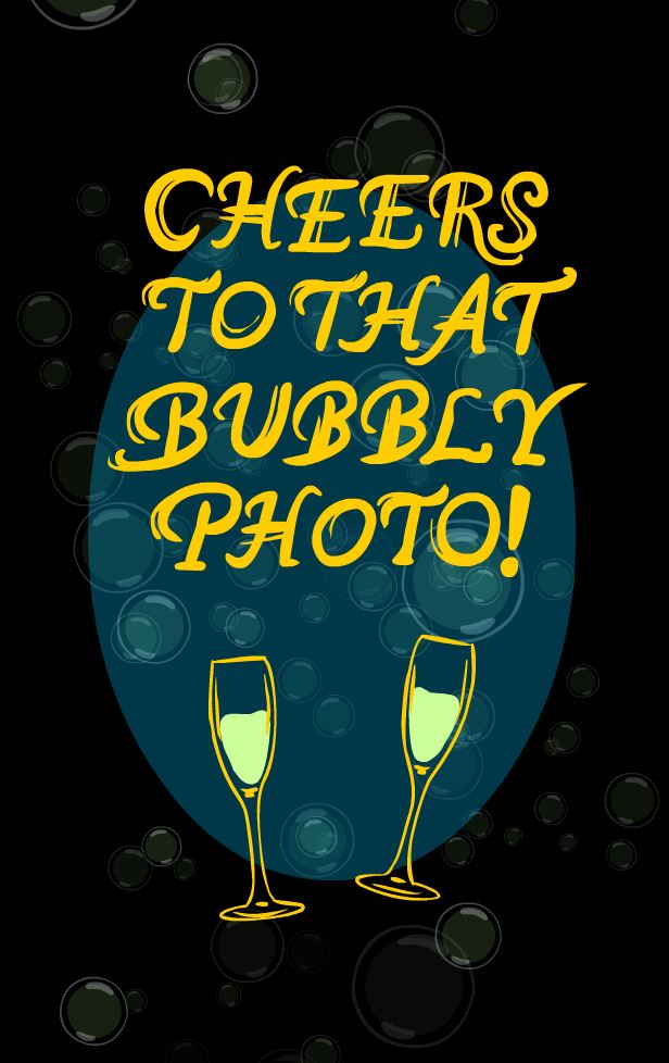 CHEERS BUBBLY
