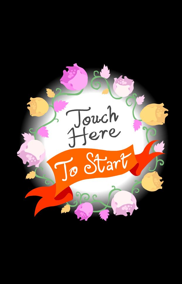 TOUCH HERE FLOWER