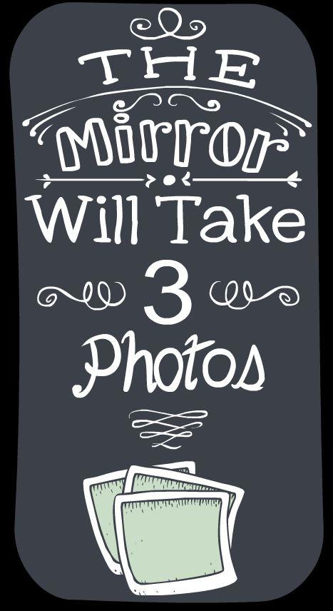 WILL TAKE 3 PHOTOS
