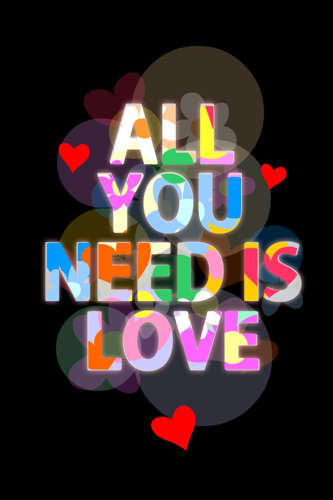 ALL YOU NEED IS LOCE