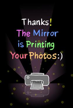 THANKS PRINTING PHOTOS