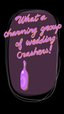 CHARMING WEDDING CRASHERS