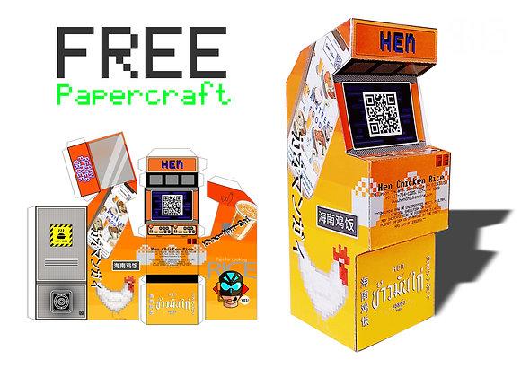 Hen Arcade Machine