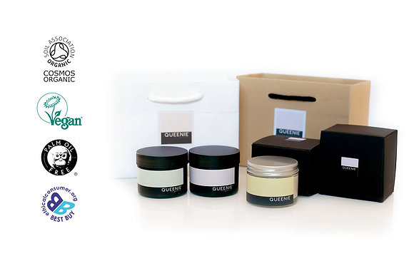 FACE AND HAND CREAM GIFT SET FOR DRY SKIN
