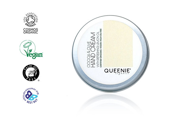 COCOA & OLIVE HAND CREAM WITH REFRESHING LEMON OIL- TIN VERSION