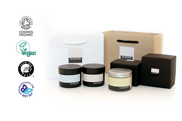 FACE AND HAND CREAM GIFT SET FOR COMBINATION SKIN