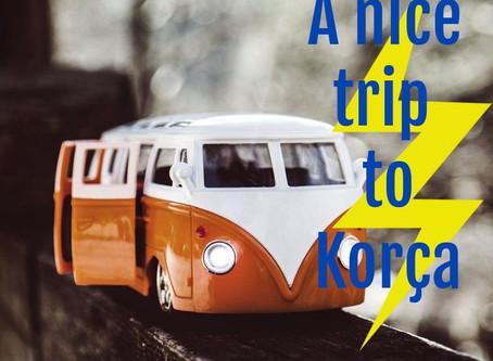 A nice trip to Korça city