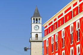 Architecture-Old-Tirana-Building-Summer-