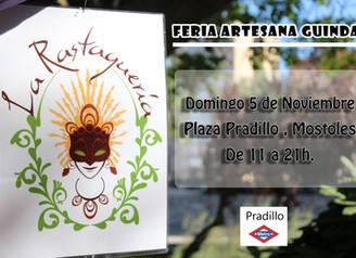Feria de artesanía el 5 de Noviembre