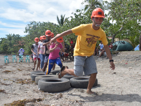 Catanduanes town holds emergency response training for youth responders