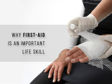 Why First Aid is an Important Life Skill