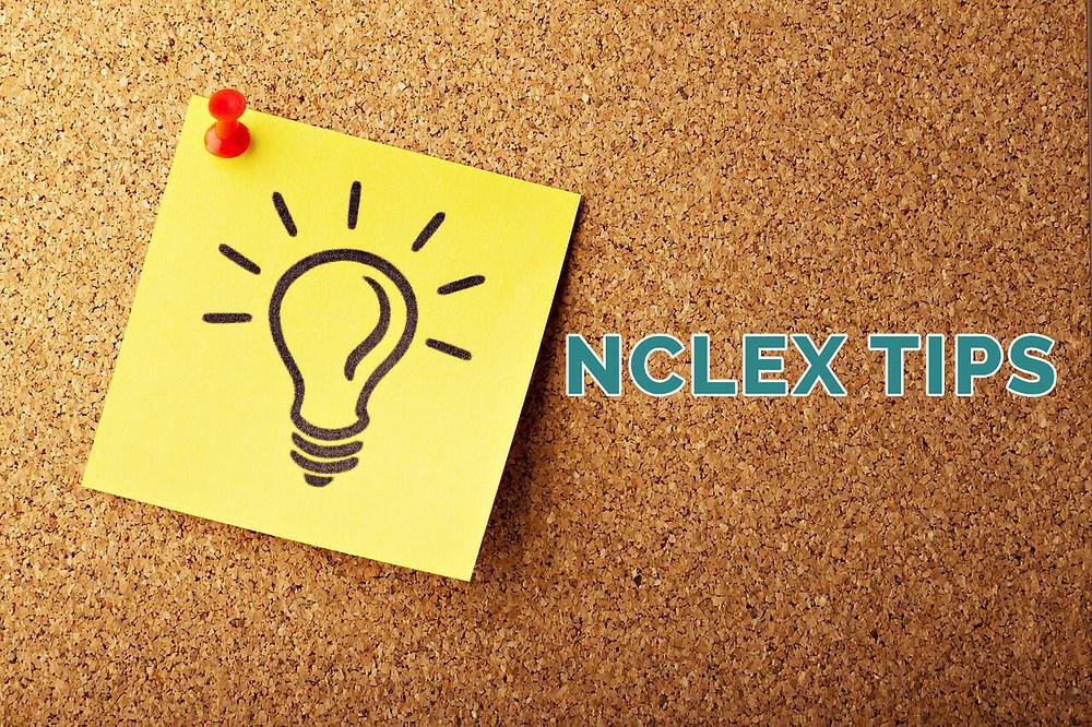 nclex tips photo