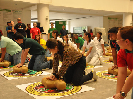 Mayor Yap leads CDRRM CPR trainees