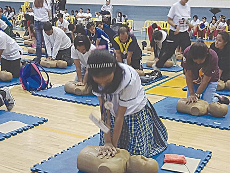 DOH, heart doctors spearhead mass CPR training
