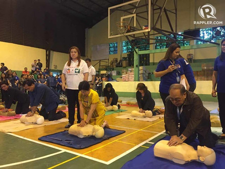 IN PHOTOS: DOH launches hands-only CPR training program