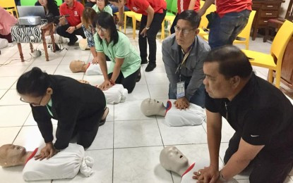 Basic life support training rolled out in Ilocos Norte schools