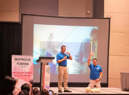 Glenmark Philippines First Aid Training