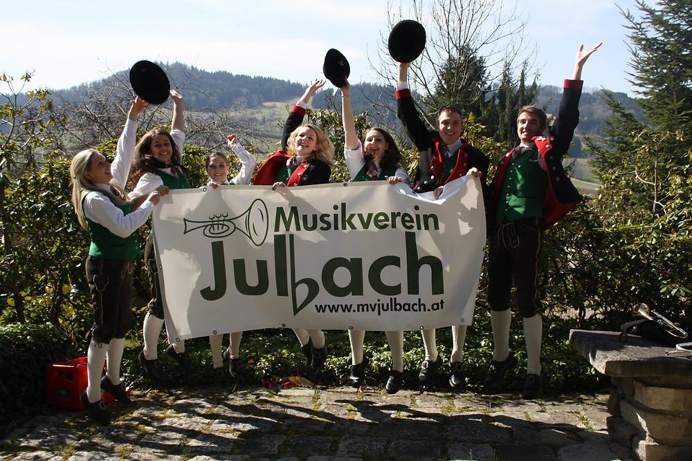 Musikverein Julbach ønsker Romsås Janitsjar velkommen
