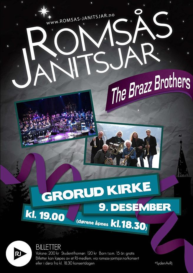 Kjøp billetter til Romsås Janitsjar sin konsert med The Brazz Brothers