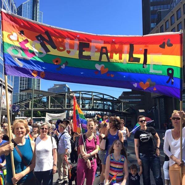 Oslo Pride, Regnbuefamilier