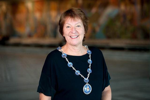 Ordfører Marianne Borgen Romsås Janitsjar