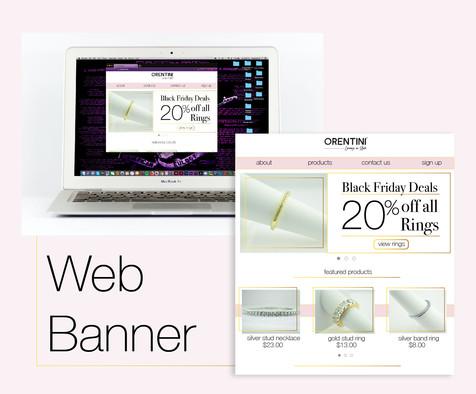 Web Banner/Web Page Display