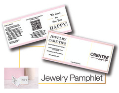 Jewelry Pamphlet