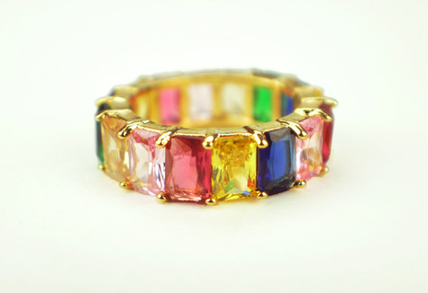 Gold Rainbow Ring