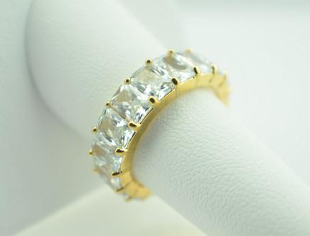 Gold Stud Ring