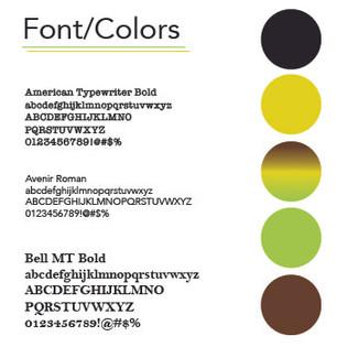 Fonts/Colors