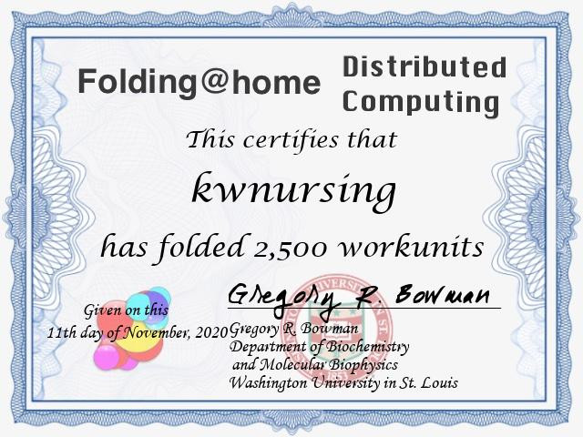 FoldingAtHome certificate-236697