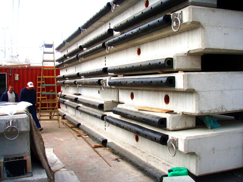ביצוע בניית מרינה תל אביב