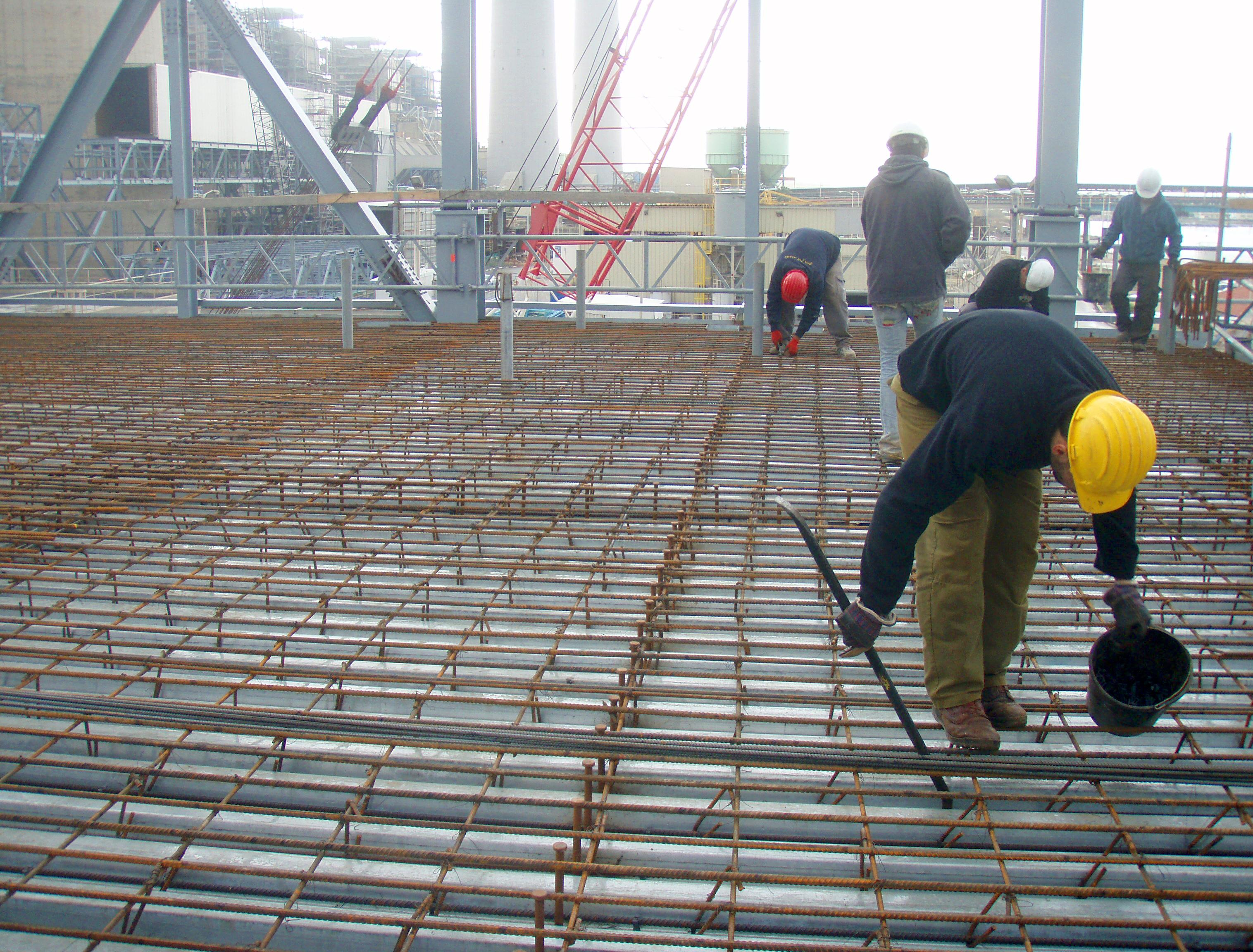Contractor expert in concrete works