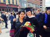 St Rose College graduation, Albany, NY