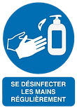 panneau-de-signalisation-se-desinfecter-