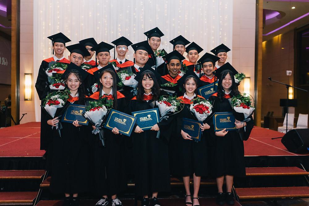 Prime International graduation robes