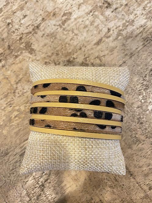 Leopard Magnetic Cuff