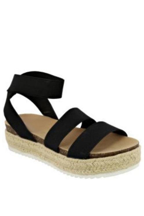 Black Beca Sandals