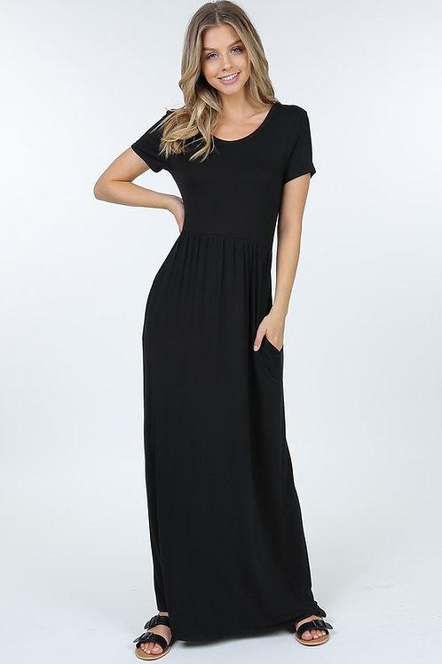 Simply pocket dress