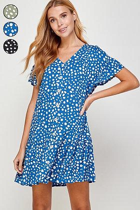 Sasha Dotted Dress