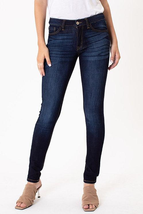 Dark Wash Kancan SkinnyJean