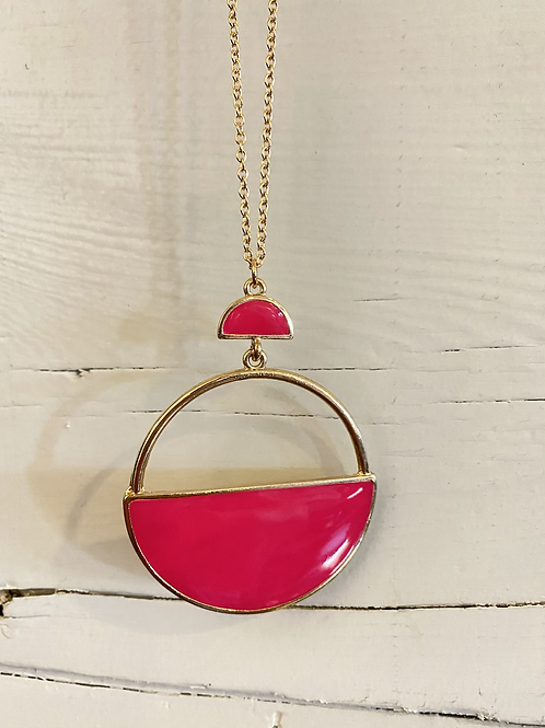 Hot Pink Necklace