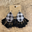 Thumbnail: Buffalo Plaid Fringe Earrings
