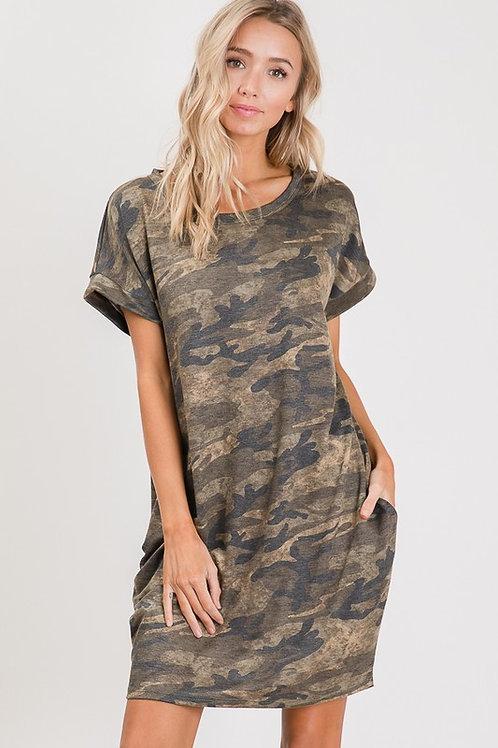 Camo Daze Dress