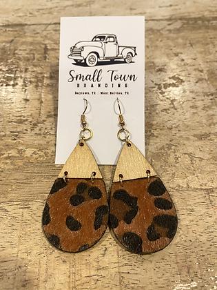 Brenna Leopard Earrings