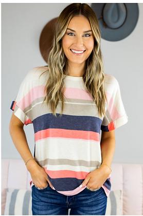 Kati Stripe Top