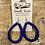 Thumbnail: Blingy Blue Hoops