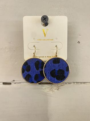 Blue Leopard Circles